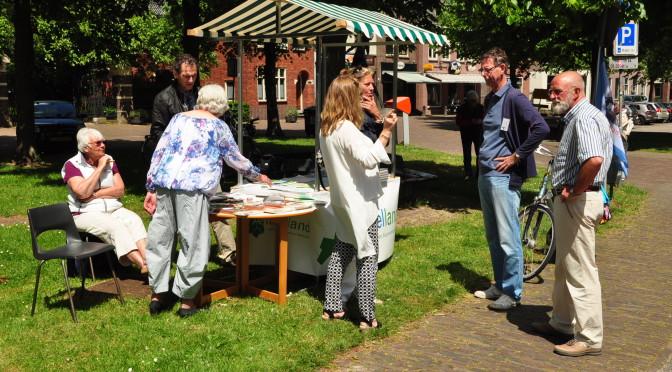 Wolfgerus met kraam op Amstellanddag