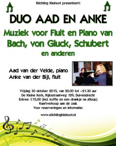 Duo-Aad-en-Anke-KK-30-10-2015-poster