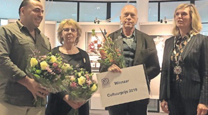 Prijsuitreiking cultuurprijs 2018