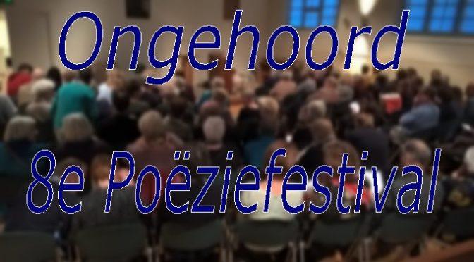 Ongehoord : 8e poëziefestival
