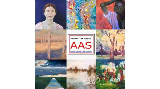 tentoonstelling amstel art school