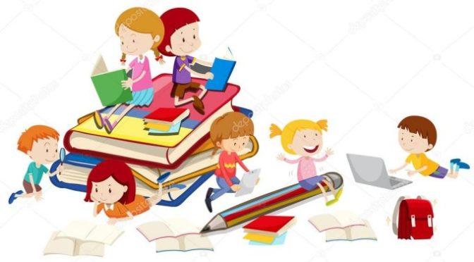 Samen lezen en knutselen
