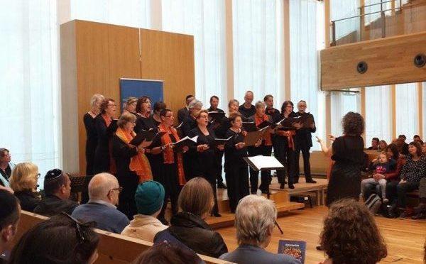 Rénanim zingt Hebreeuwse liederen